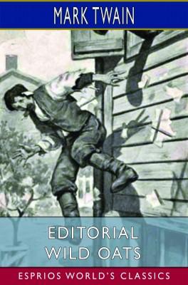 Editorial Wild Oats (Esprios Classics)
